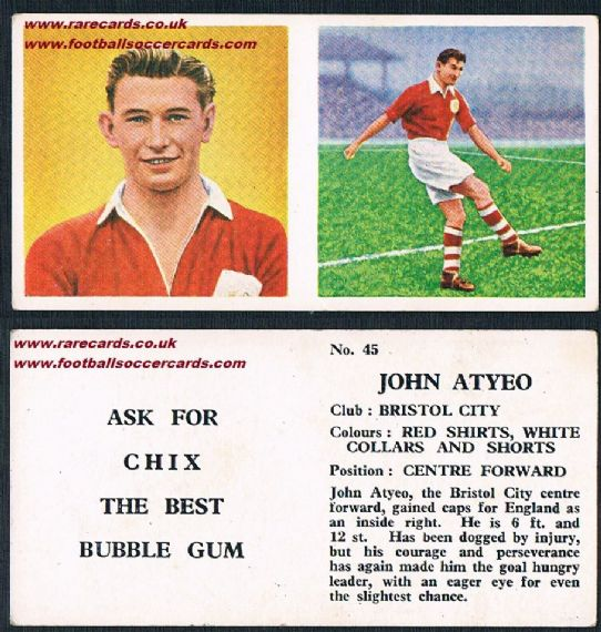 1959 Bristol City Atyeo TYPE1 Chix